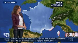 Fanny Agostini à la Météo de BFM TV - 23/01/17 - 34