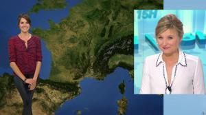 Fanny Agostini à la Météo de BFM TV - 26/04/17 - 01