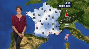 Fanny Agostini à la Météo de BFM TV - 26/04/17 - 06