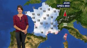 Fanny Agostini à la Météo de BFM TV - 26/04/17 - 10