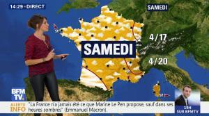 Fanny Agostini à la Météo de BFM TV - 26/04/17 - 16