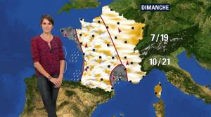 Fanny Agostini à la Météo de BFM TV - 26/04/17 - 17