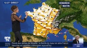 Fanny Agostini à la Météo de BFM TV - 27/04/17 - 01