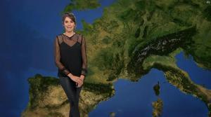 Fanny Agostini à la Météo de BFM TV - 27/04/17 - 03