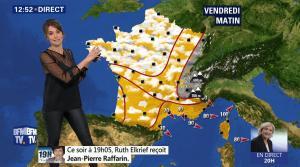 Fanny Agostini à la Météo de BFM TV - 27/04/17 - 05