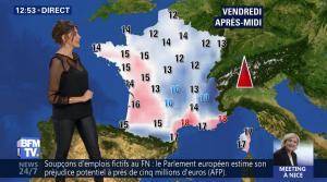 Fanny Agostini à la Météo de BFM TV - 27/04/17 - 06