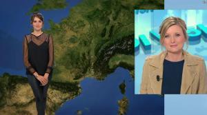 Fanny Agostini à la Météo de BFM TV - 27/04/17 - 10