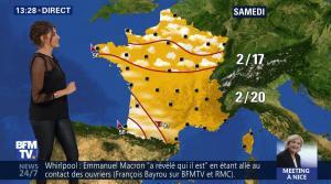 Fanny Agostini à la Météo de BFM TV - 27/04/17 - 11