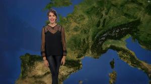 Fanny Agostini à la Météo de BFM TV - 27/04/17 - 12