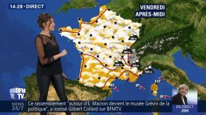 Fanny Agostini à la Météo de BFM TV - 27/04/17 - 13