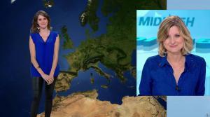 Fanny Agostini à la Météo de BFM TV - 28/02/17 - 03