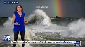 Fanny Agostini à la Météo de BFM TV - 28/02/17 - 04