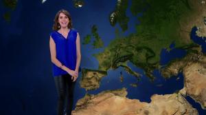 Fanny Agostini à la Météo de BFM TV - 28/02/17 - 09