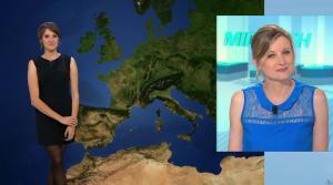Fanny Agostini à la Météo de BFM TV - 28/04/17 - 01