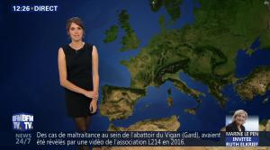 Fanny Agostini à la Météo de BFM TV - 28/04/17 - 02