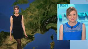 Fanny Agostini à la Météo de BFM TV - 28/04/17 - 08