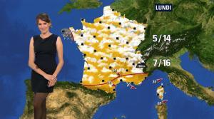Fanny Agostini à la Météo de BFM TV - 28/04/17 - 10
