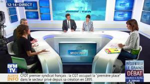 Fanny Agostini à la Météo de BFM TV - 31/03/17 - 01
