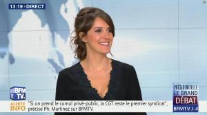 Fanny Agostini à la Météo de BFM TV - 31/03/17 - 10
