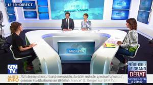 Fanny Agostini à la Météo de BFM TV - 31/03/17 - 11