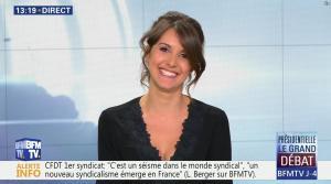 Fanny Agostini à la Météo de BFM TV - 31/03/17 - 12