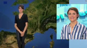 Fanny Agostini à la Météo de BFM TV - 31/03/17 - 13