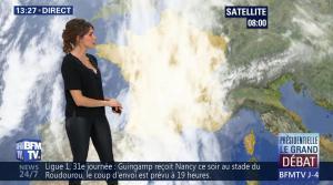 Fanny Agostini à la Météo de BFM TV - 31/03/17 - 14
