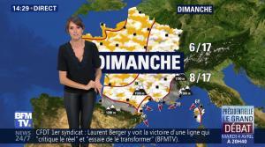 Fanny Agostini à la Météo de BFM TV - 31/03/17 - 18