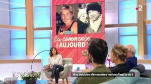 Faustine Bollaert dans Ca Commence Aujourd hui - 06/03/18 - 16