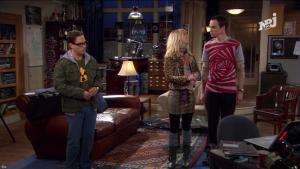 Kaley Cuoco dans The Big Bang Theory - 25/11/17 - 05