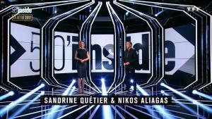 Sandrine Quétier dans 50 Minutes Inside - 30/12/17 - 01