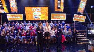 Alessia Marcuzzi dans Mai Dire Talk - 10/01/19 - 06