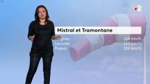 Anaïs Baydemir à la Météo - 02/01/19 - 02