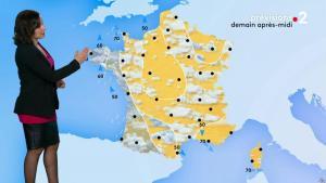 Anaïs Baydemir à la Météo du Soir - 17/01/19 - 01