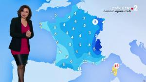 Anaïs Baydemir à la Météo du Soir - 17/01/19 - 02
