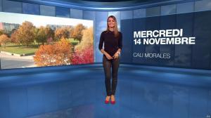 Cali Morales à la Météo du Soir - 14/11/18 - 01