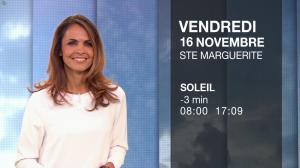 Cali Morales à la Météo du Soir - 15/11/18 - 02