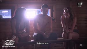 Caroline Ithurbide et Delphine Wespiser dans Baba en Laponie - 19/12/18 - 07