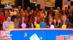 Delphine Wespiser dans Touche pas à mon Poste - 16/01/19 - 12