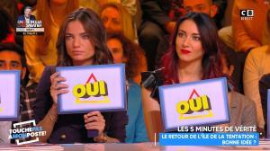 Delphine Wespiser dans Touche pas à mon Poste - 16/01/19 - 21