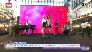 Agathe Auproux et Kelly Vedovelli dans William à Midi - 03/09/19 - 02