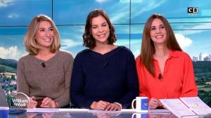 Caroline Delage, Caroline Munoz et Raphaële Marchal dans William à Midi - 07/01/20 - 03