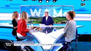 Caroline Delage et Sandrine Arcizet dans William à Midi - 18/10/19 - 09