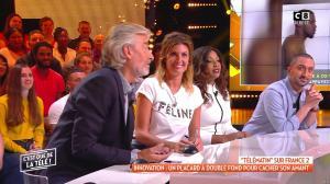 Caroline Ithurbide dans c'est Que de la Télé - 30/09/19 - 02