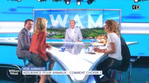 Caroline Ithurbide et Sandrine Arcizet dans William à Midi - 09/09/19 - 14