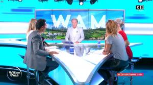 Caroline Ithurbide dans William à Midi - 02/09/19 - 11