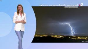 Chloé Nabédian à la Météo - 06/08/19 - 01