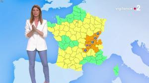 Chloé Nabédian à la Météo - 06/08/19 - 02