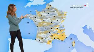 Chloé Nabédian à la Météo de Midi - 06/11/19 - 02