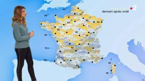 Chloé Nabédian à la Météo de Midi - 06/11/19 - 03